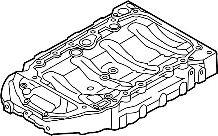 Volkswagen Jetta Engine Oil Pan. Upper, BEARINGS, CODE
