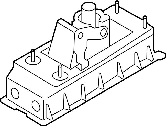 Volkswagen GTI Manual Transmission Shift Lever. Shifter
