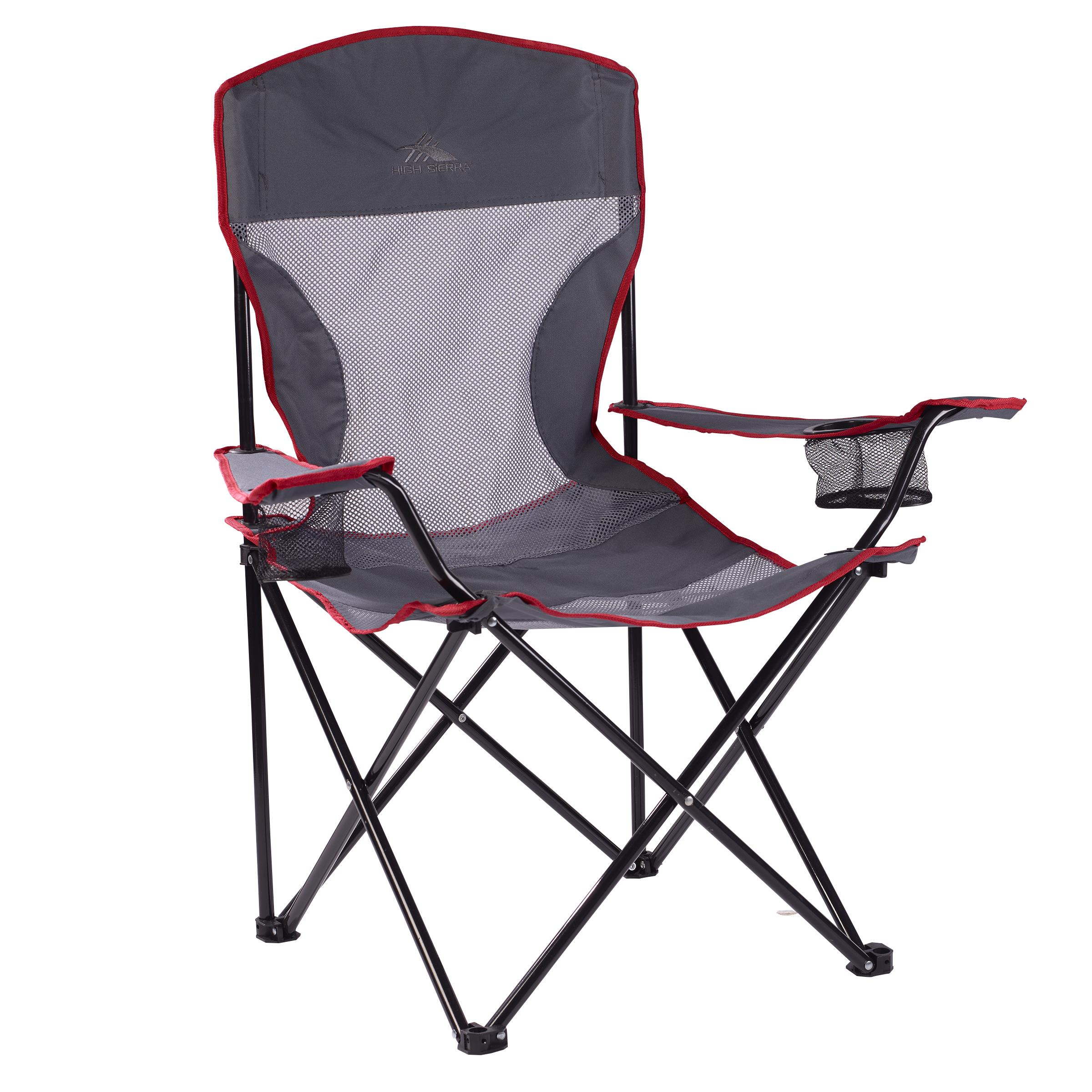 camping chair accessories swivel malaysia 200272689 high sierra gray bull