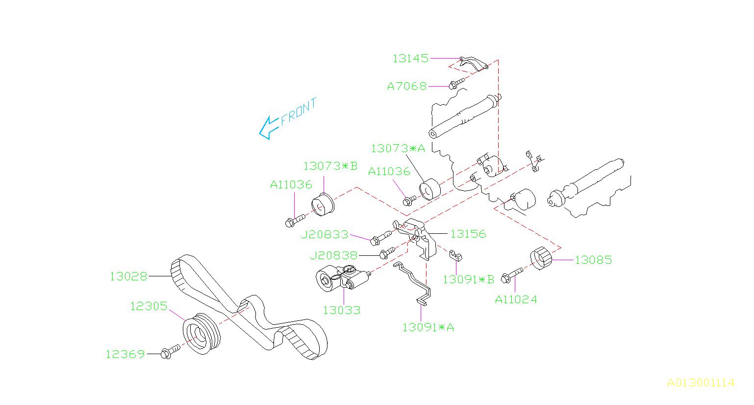 top suggestions 2001 subaru forester timing belt diagram :