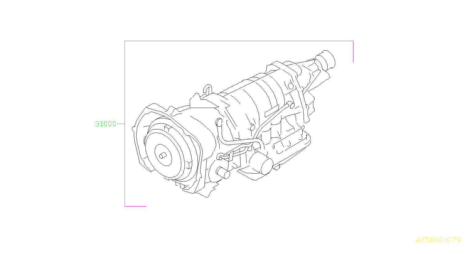 Subaru Outback Automatic Transmission Assembly