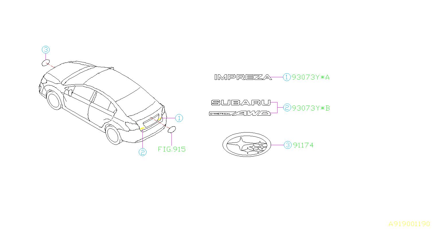 A Diagram Of Subaru