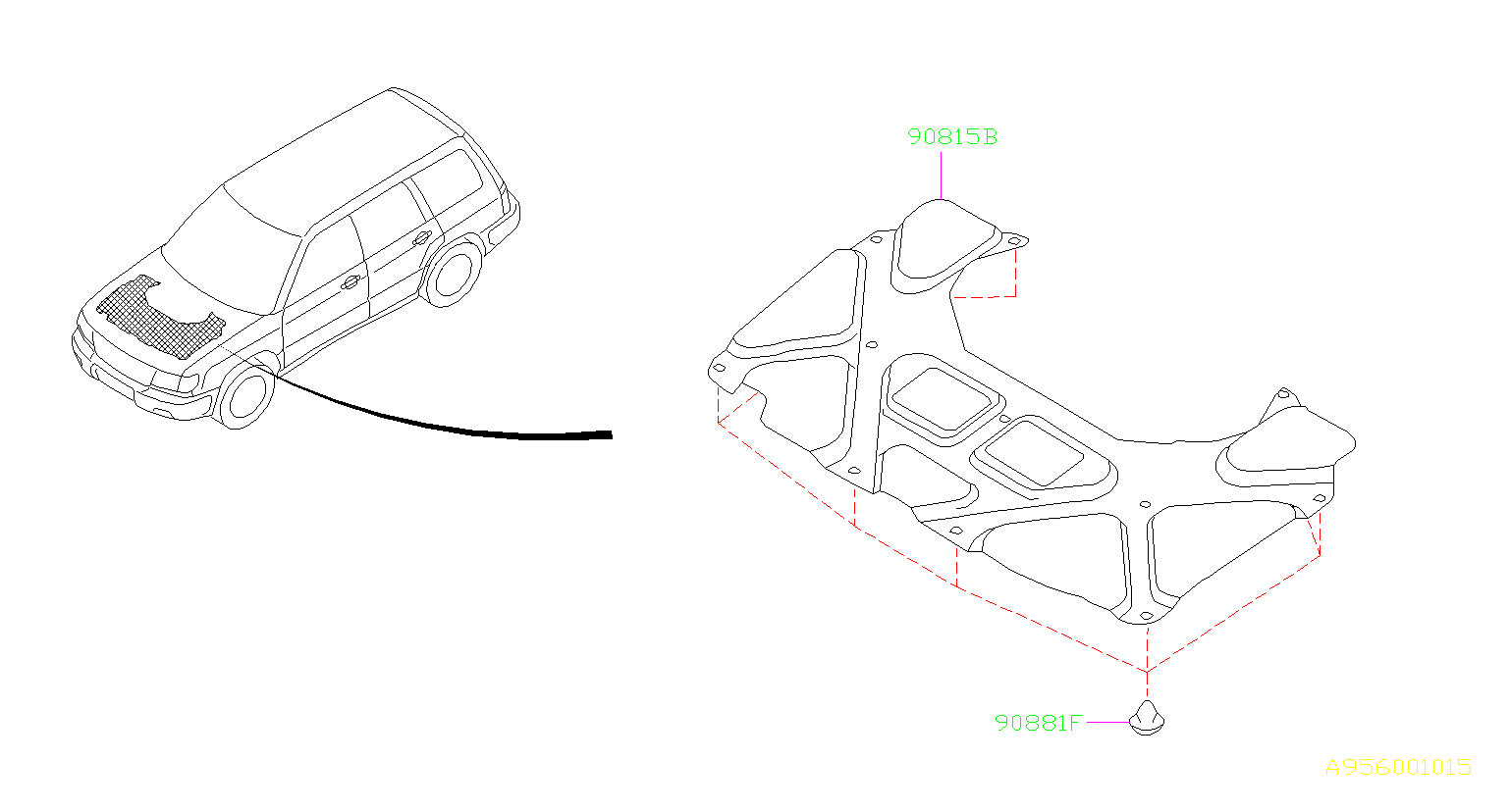 2004 Subaru Impreza Parts Diagram