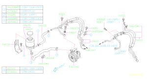 06 forester power steering leak @ rack line  1990 to