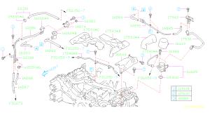 16102AA480  Valve assemblyduty solenoid Intake, manifold, throttle  Genuine Subaru Part