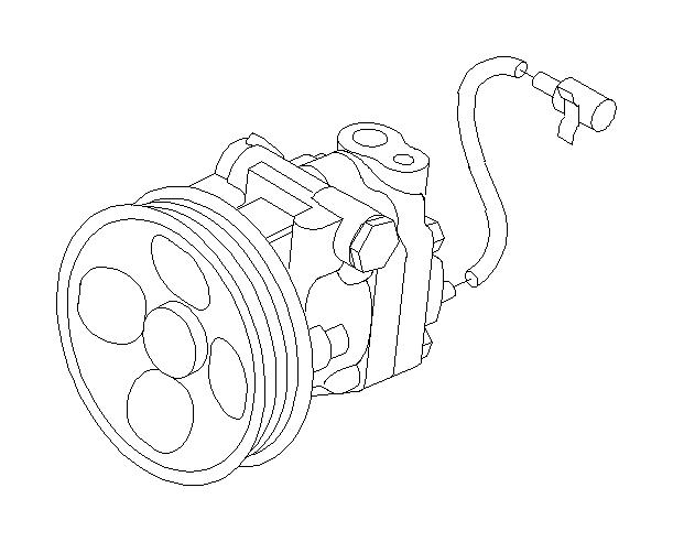 2006 Subaru Outback Pump-power steering. Oil