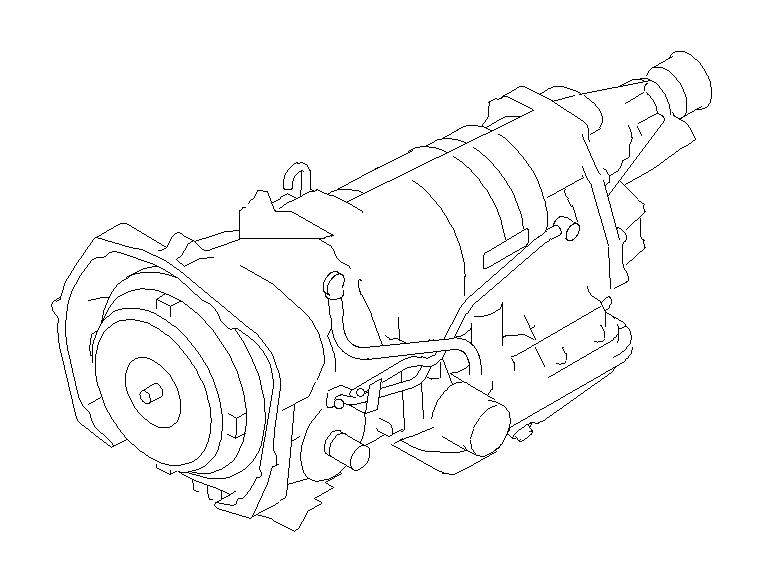 2012 Subaru Outback Automatic transmission assembly
