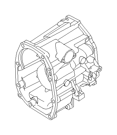 2012 Subaru WRX Case complete-transfer. Extension
