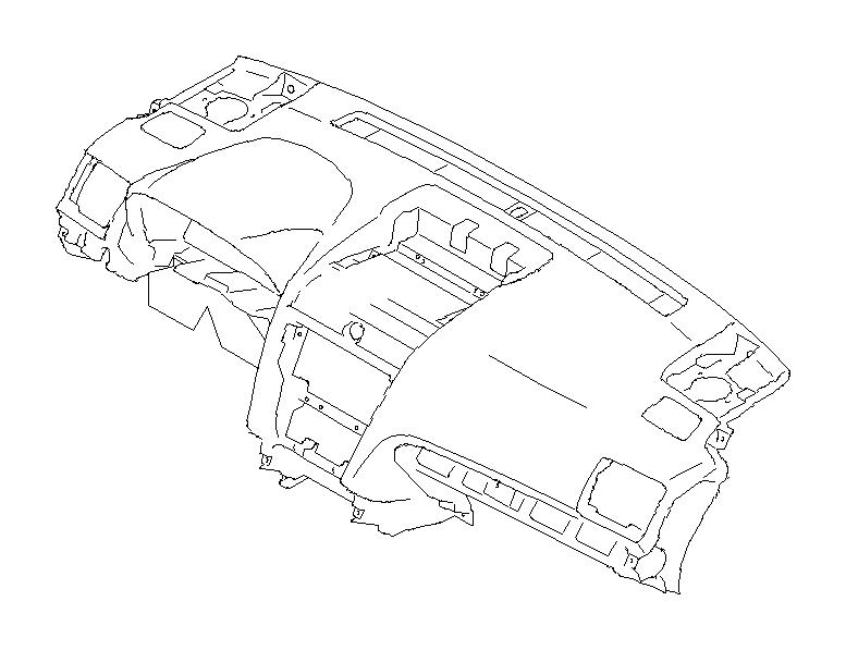 2017 Subaru Forester Panel complete-instrument. Center