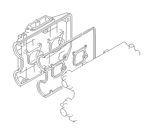 1998 Subaru Legacy Gasket-rocker cover, no.2. Engine