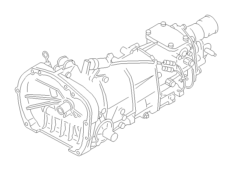 2012 Subaru Forester Manual Transmission. Assembly