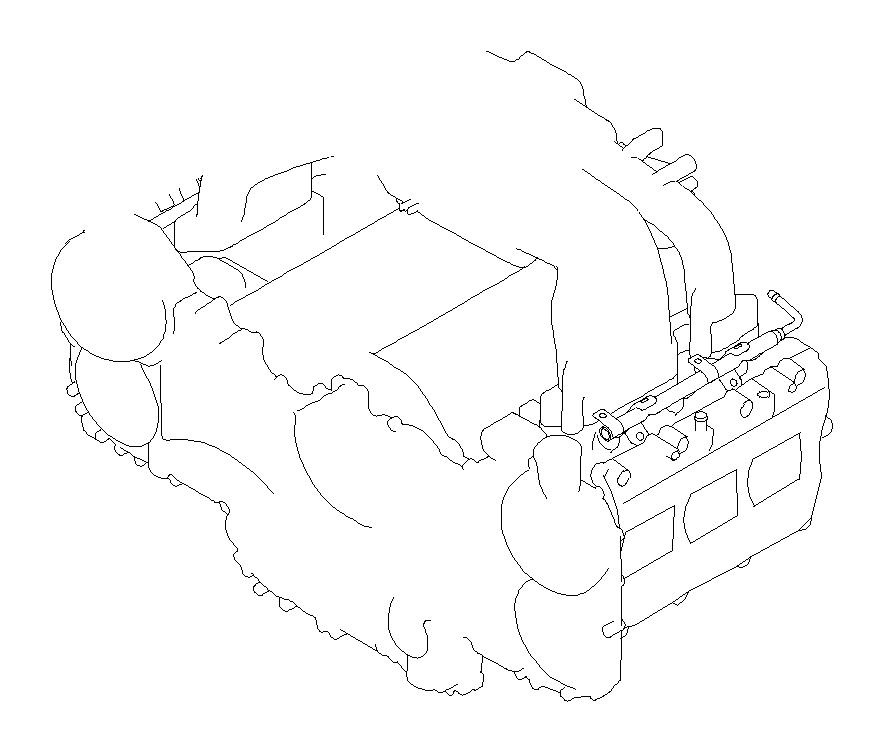 Subaru Tribeca 3.0L Base-E(7ST) Harness-engine. Wiring