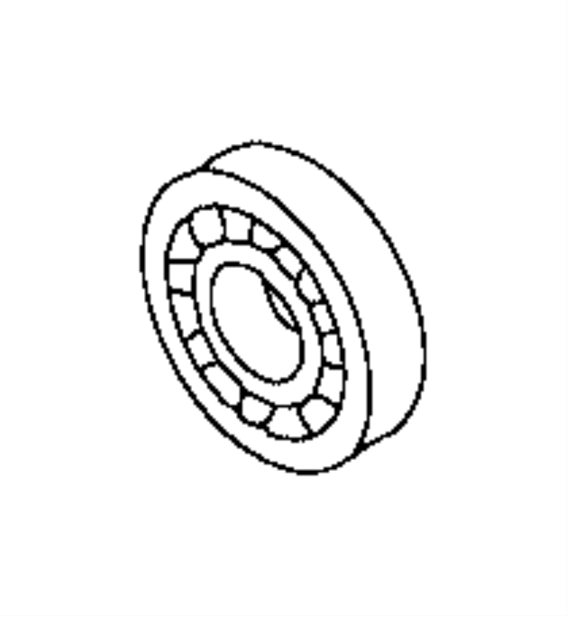 Toyota Truck Manual Transmission Output Shaft Bearing