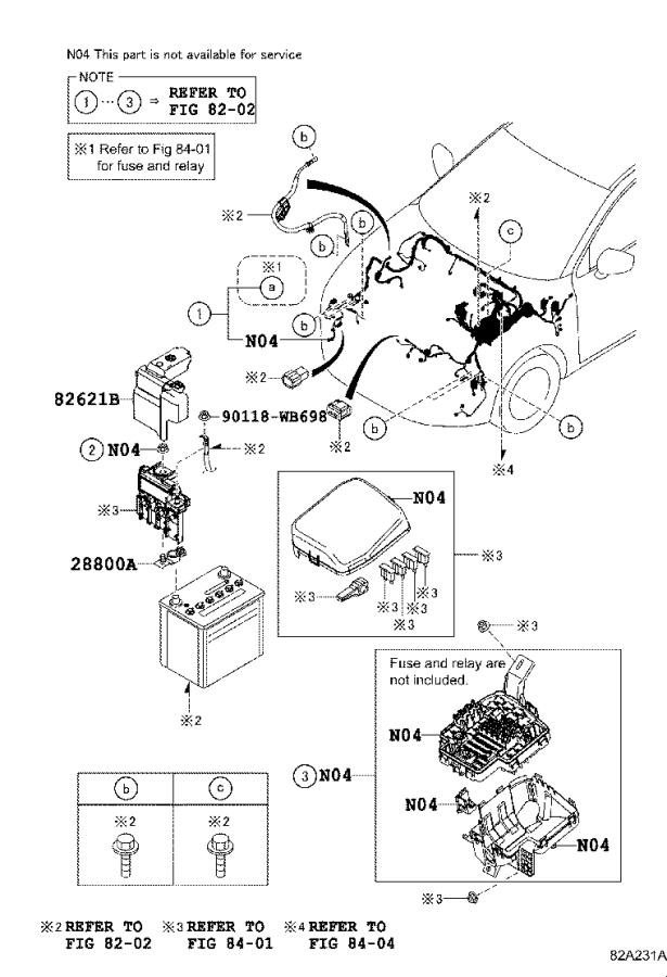 2018 Toyota Yaris iA Battery Cover. Insulator, Battery