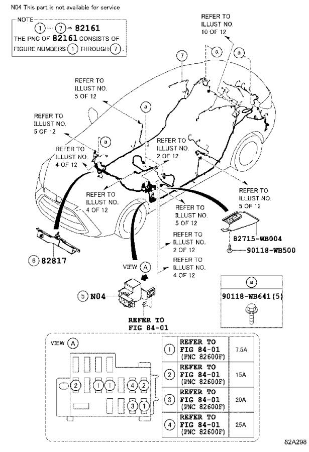 2019 Toyota Yaris iA Connector, wiring harness. Electrical