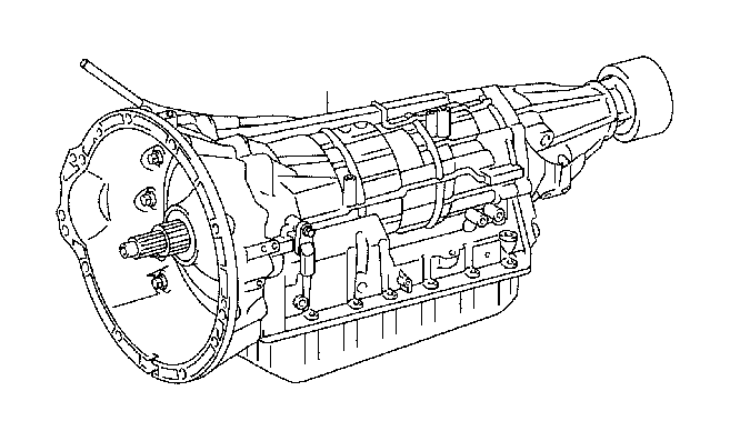 2010 Toyota Sequoia Automatic Transmission. Assembly, ATM