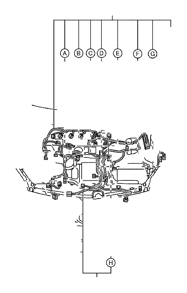 2010 Toyota Prius Wire, engine, no. 2. Wiring, electrical