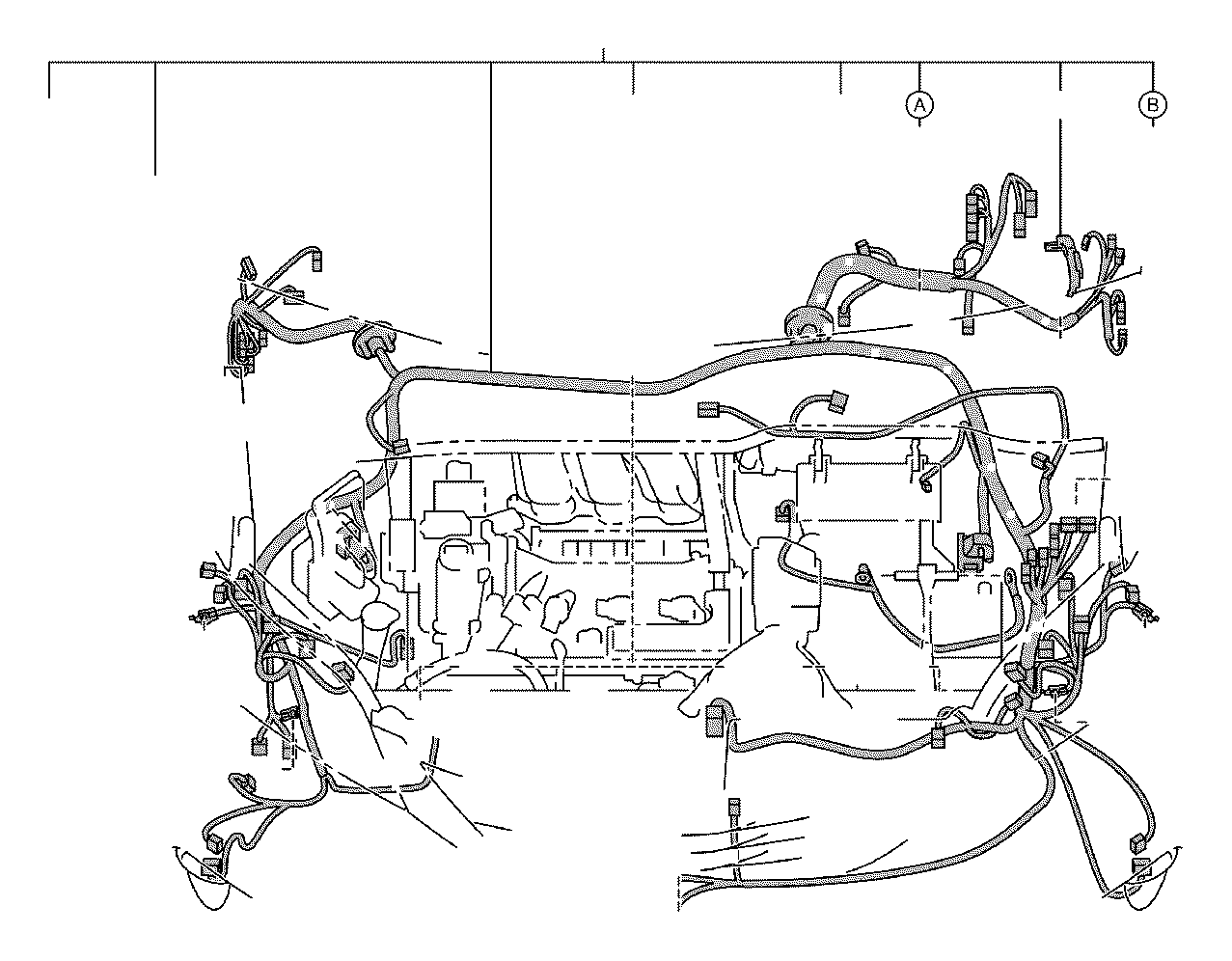 2013 Toyota Sienna Protector, wiring harness, no. 1