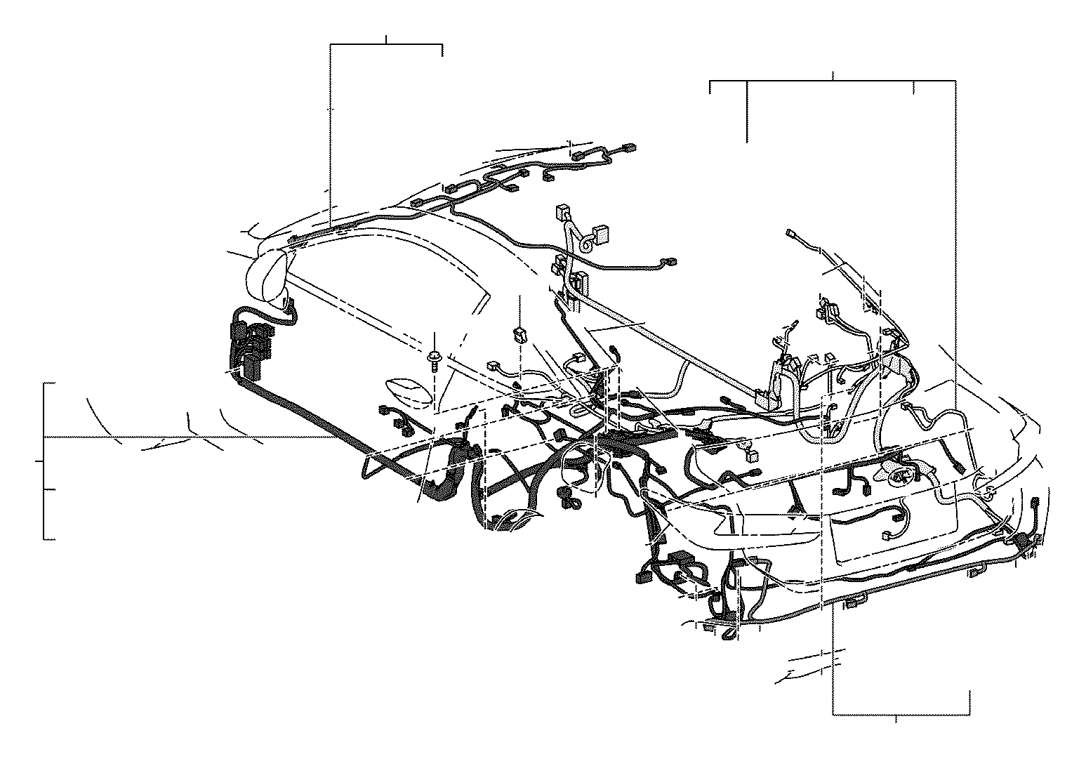 Toyota 4Runner Diode. Engine, connector, clamp