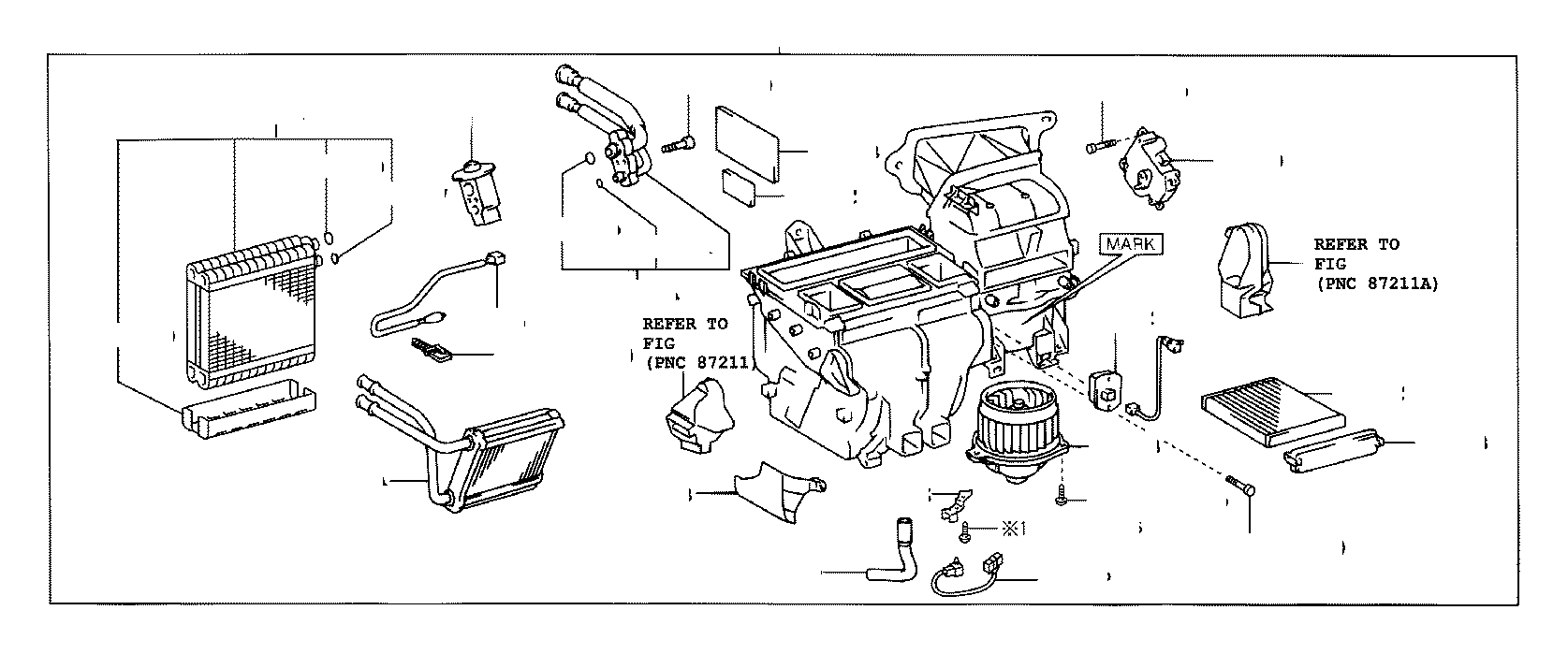2003 Toyota Corolla A/c expansion valve. Valve, cooler