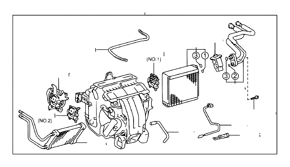 2003 Toyota Camry Servo sub-assembly, damper(for mode