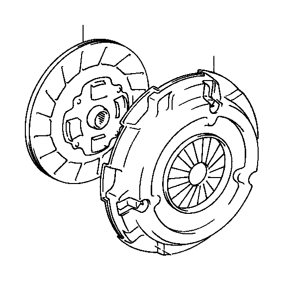 Toyota Celica Cover assembly, clutch. Clutch cover