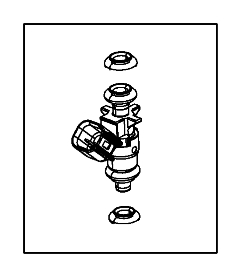 Subaru DL/GL/GL10/RS/RX Fuel Injector O-Ring Kit. O Ring