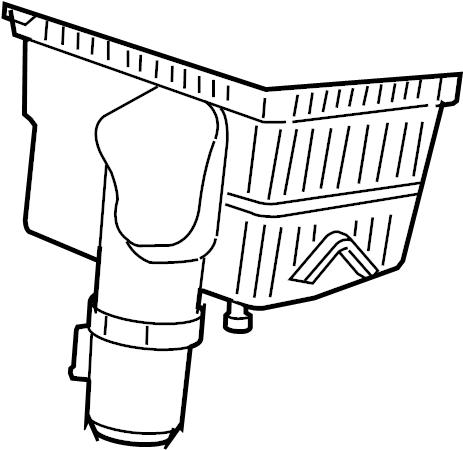 Subaru Legacy Air Filter Housing. Cleaner, ELEMENT, Engine