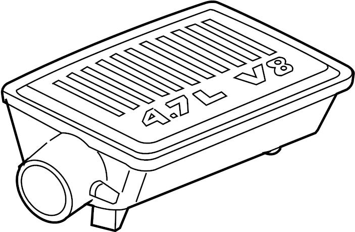 Subaru WRX Boot Air Intake B. ELEMENT, DUCT, CLEANER