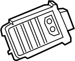Subaru DL/GL/GL10/RS/RX Hvac blower motor resistor