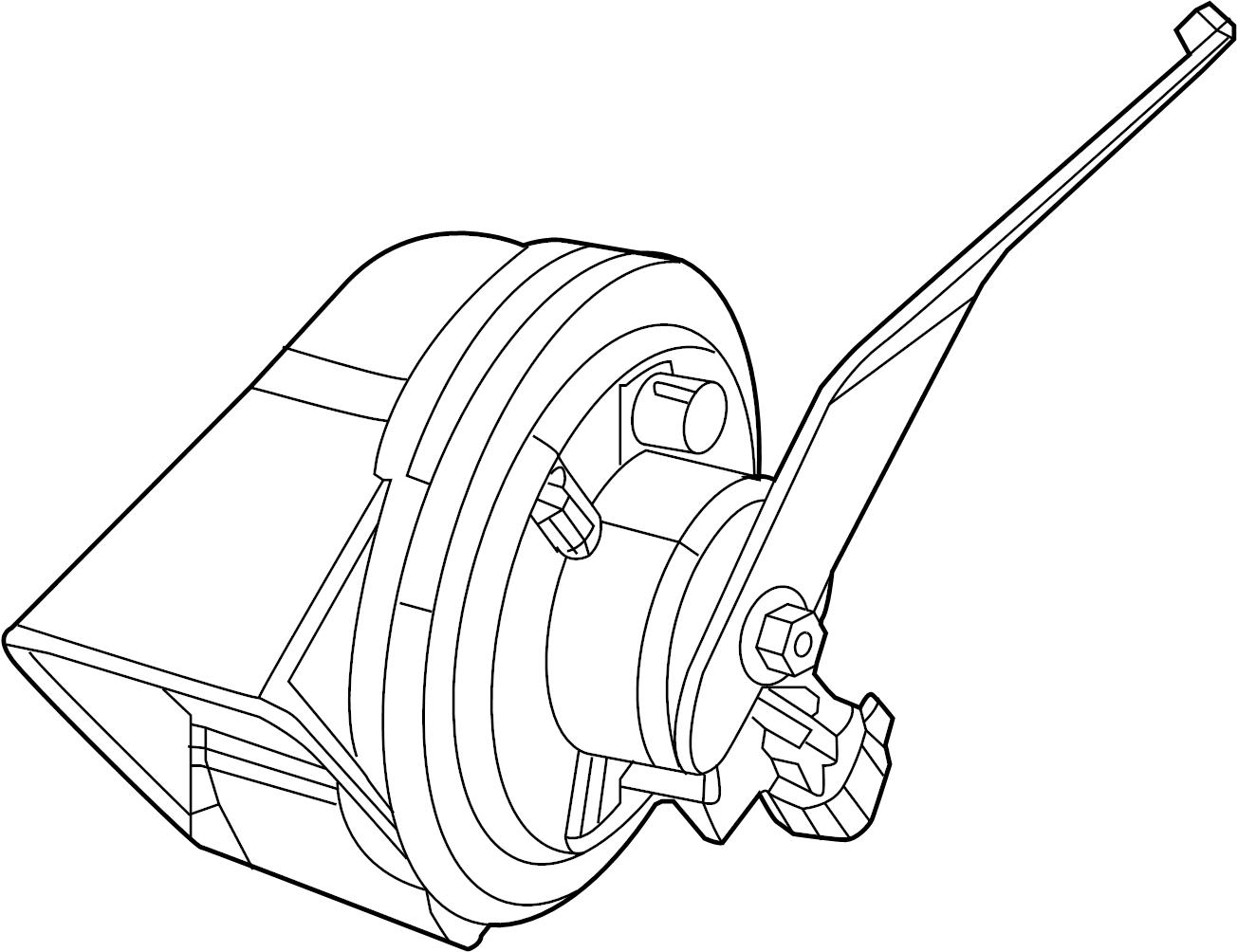 Subaru DL/GL/GL10/RS/RX Horn (Lower). ELECTRICAL, BODY