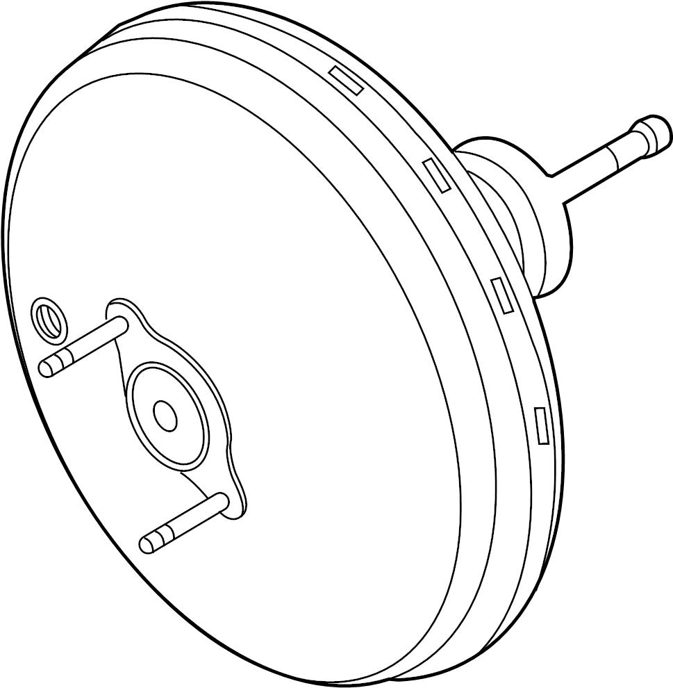 Subaru DL/GL/GL10/RS/RX Power Brake Booster. Master Vacuum