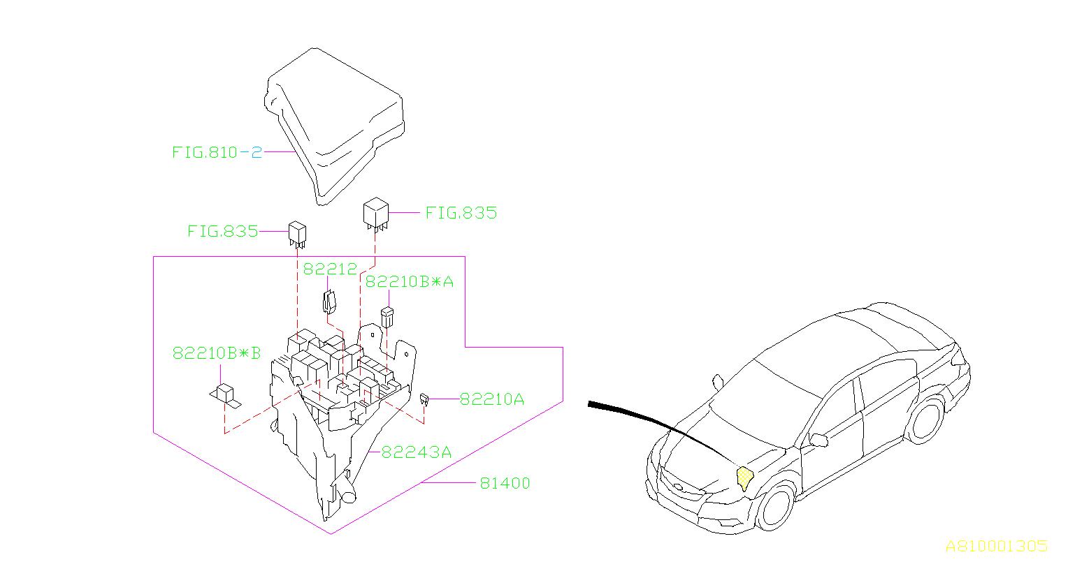 main fuse box diagram 1996 subaru