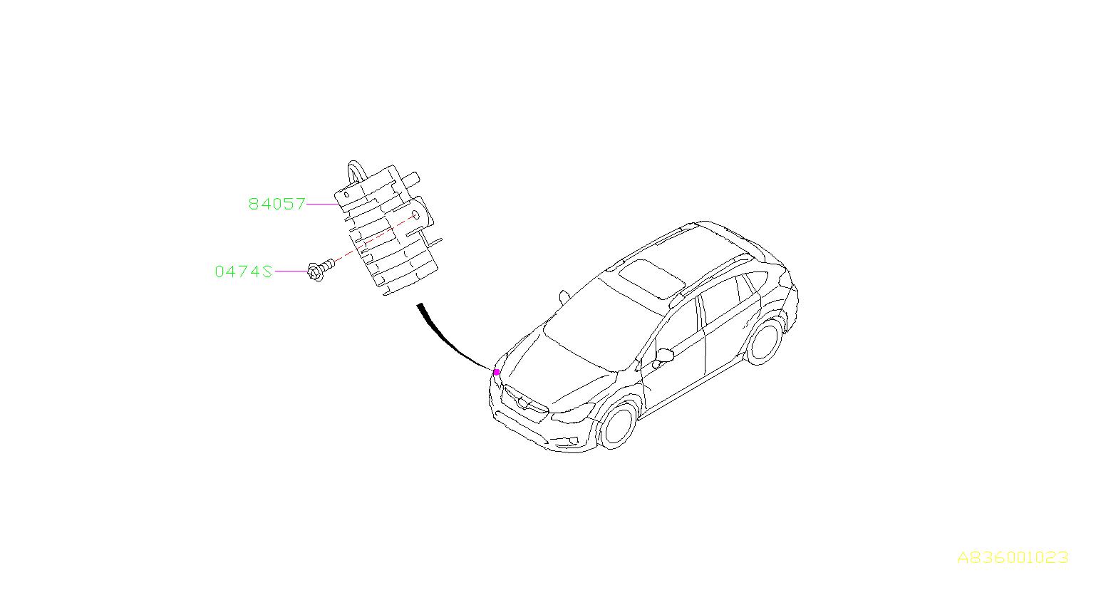 Subaru Crosstrek Resistor Assembly Daytime Running Lamp