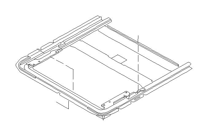 Subaru Legacy Rail CP Sun Roof. TANDEM, REAR, Interior