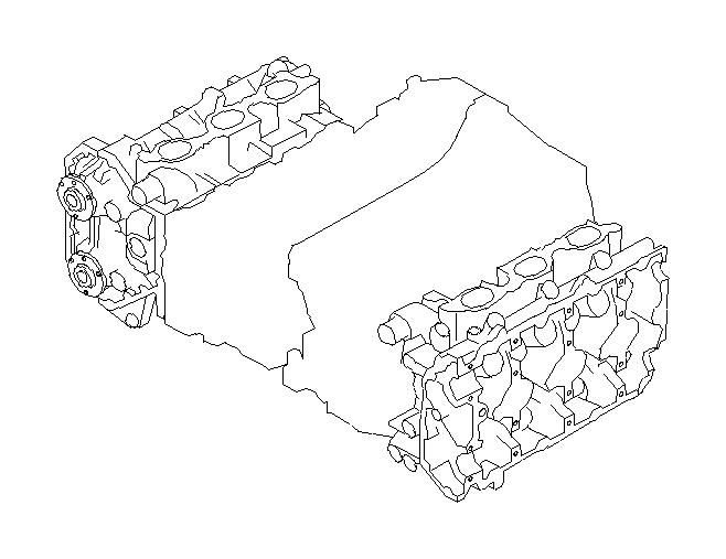 Subaru Legacy Head Cylinder. (Right). Engine, Cooling