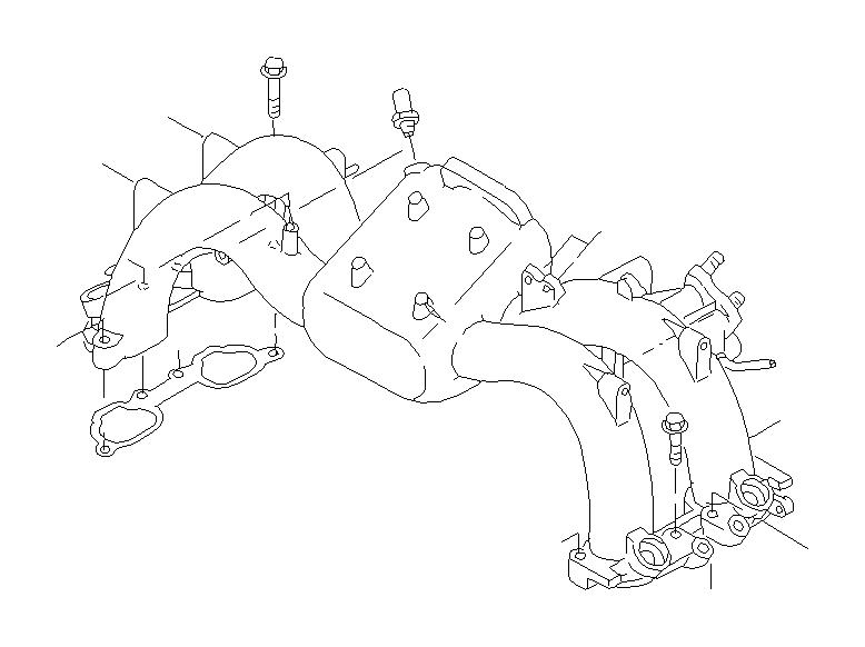 Subaru Legacy Pcv valve. Valve complete control. Air