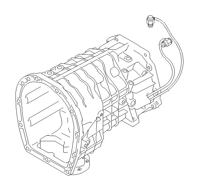Subaru Legacy Neutral Safety Switch. M/#107981