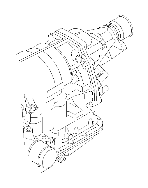 Subaru Legacy Sensor and harness assembly transmission. M