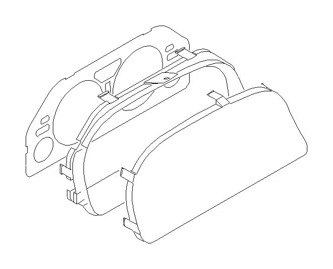 Subaru Forester Instrument Cluster. METER, Electrical