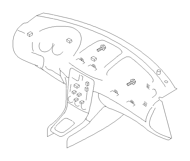 Subaru Baja Tapping screw-truss head. Key, console, box