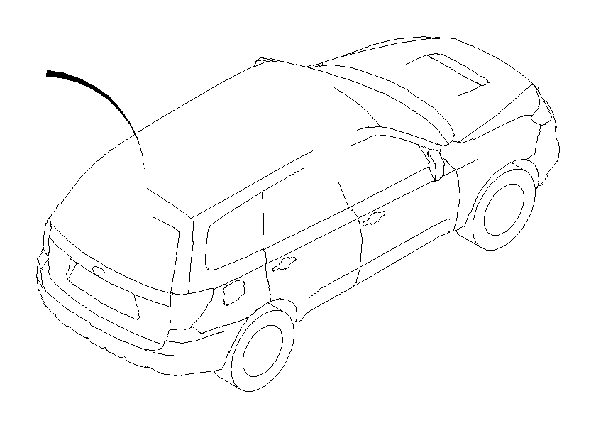 Subaru Forester Antenna Cable (Rear). FEEDER Cord (RR