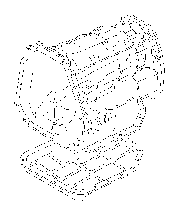 Subaru Outback Automatic Transmission Oil Pan. Oil Pan