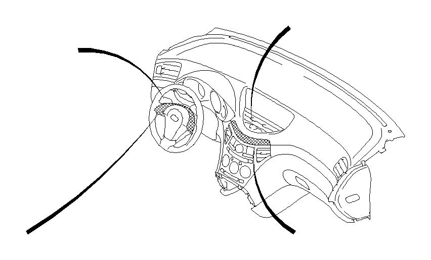 Subaru Tribeca Switch-lighting leveler. Panel