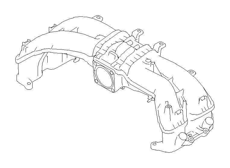 Subaru Forester Manifold complete-intake. Gasket, engine