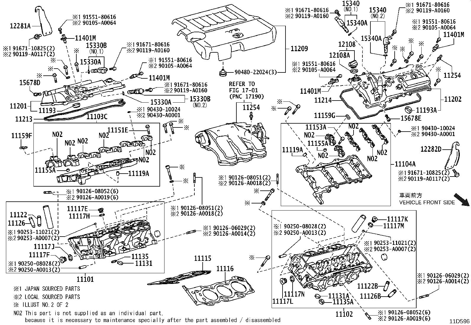 2007 Toyota Avalon Engine Variable Valve Timing (VVT