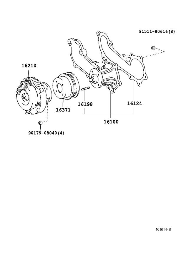 Toyota Tacoma Towing Options, Fan Fluid Coupling. Towing