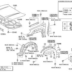2006 Toyota 4runner Parts Diagram 1967 Chevelle Wiring 2007 Pad Front Fender Outside
