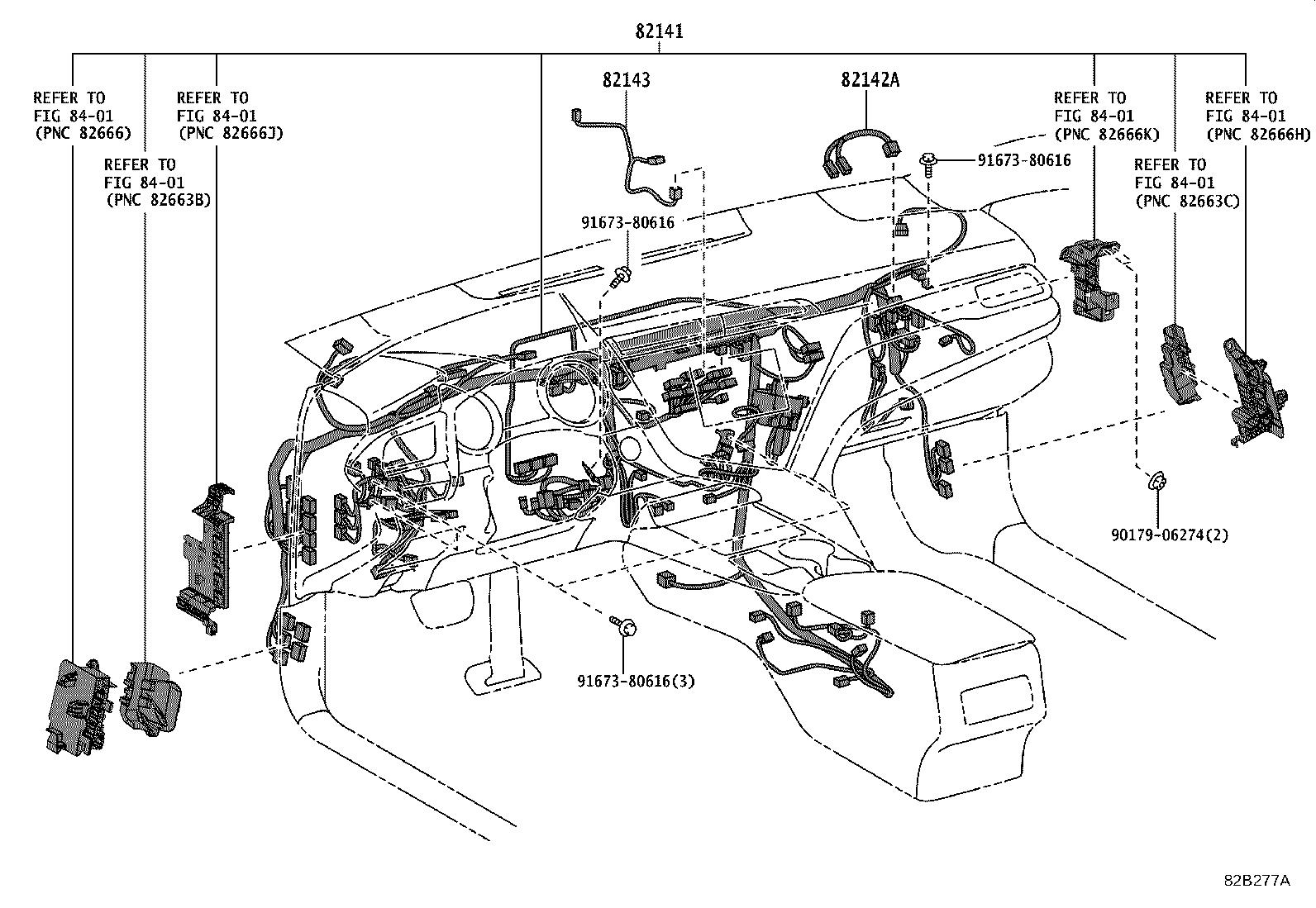 Toyota Camry Cover Connector Wiring Electrical