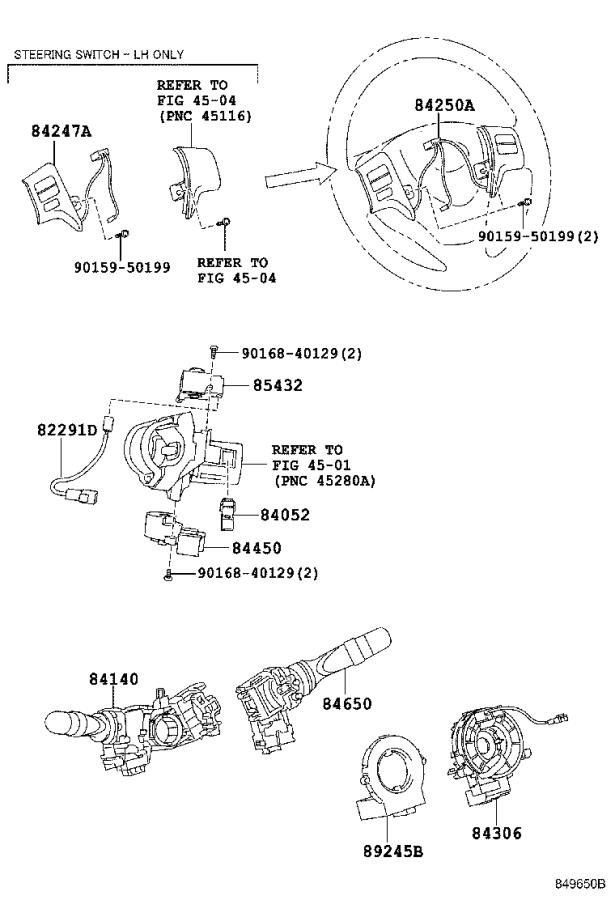2010 Toyota Corolla Oxygen Sensor. Sensor, Air Fuel Ratio